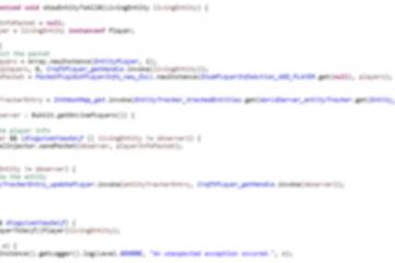Unscharfer Java-Code